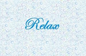 tiny bubbles relax