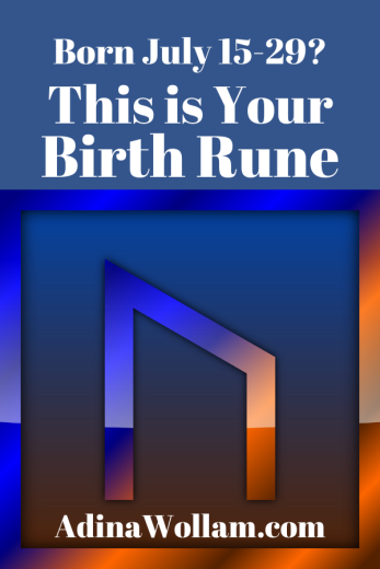 Birth Rune 7 15 to 29 Uruz