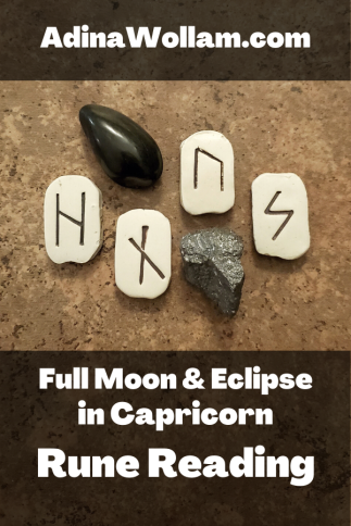 Full Moon Eclipse in Capricorn p