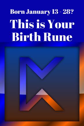 Birth rune 1 13 to 1 28 Pertho